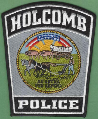 HOLCOMB KANSAS POLICE SHOULDER PATCH