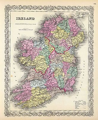 IRELAND 185 maps history Celtic VILLAGES towns GENEALOGY old SETTLEMENTS DVD