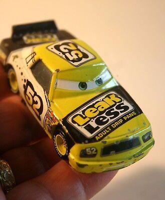 DISNEY PIXAR CARS 1:55 SCALE LOOSE DIE CAST CAR #52 LEAK LESS ADULT DRIP PANS