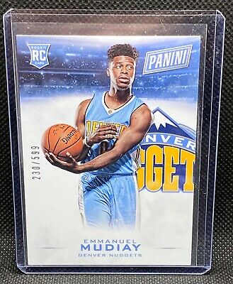 2015 Panini Black Friday - Emmanuel Mudiay - RC 230/599 Rookie Denver Nuggets 31