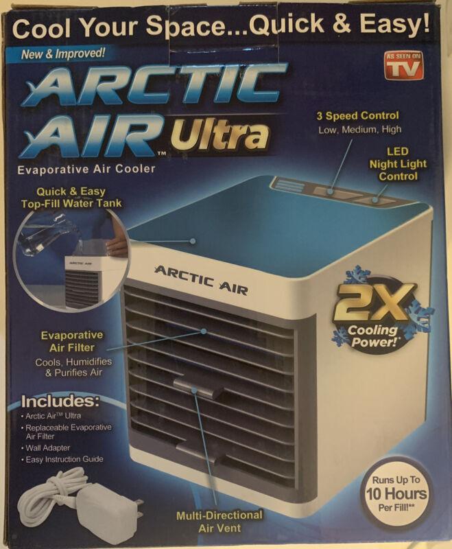 Ontel Arctic Air Ultra Portable Evaporative Cooler - White