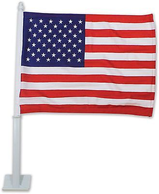 Wholesale Lot Of 120 Usa American Car Window Clip Flags