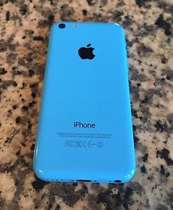 Iphone 5c (green and blue , with chargers and otterbox case)