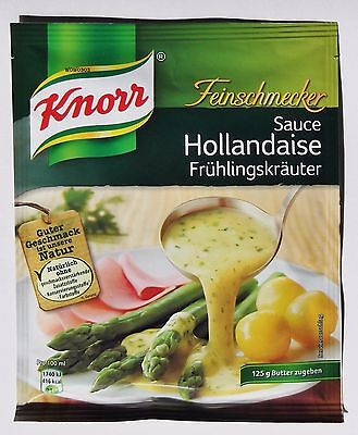 5x Knorr Feinschmecker - Salsa Holandesa Hierbas De Primavera