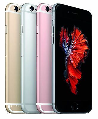Unlocked Apple iPhone 6S Plus 64GB 4G LTE AT&T T-mobile MetroPcs Smartphone