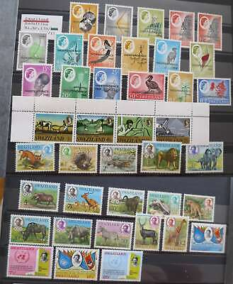 SWAZILAND 1968-69 Neat collection  mnh**/Dm043