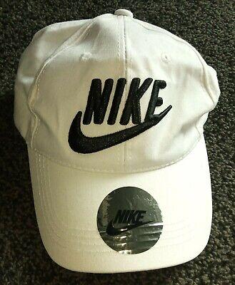 NIKE Baseball Cap - WHITE - One size, Adjustable Snapback