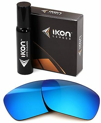 Polarized IKON Replacement Lenses For Dragon Calavera Sunglasses Ice Blue (Dragon Sunglasses Calavera)