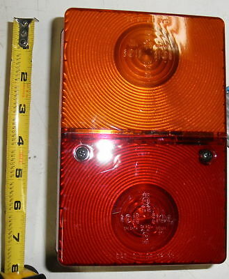 Stop Turn Tail Light Jlg Trak 8500063 Tractor Trailer Forklift Red Amber