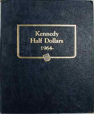 Click now to see the BUY IT NOW Price! KENNEDY HALF DOLLARS 1964 2001 ALBUM 50C SILVER WHITMAN CLASSIC 9127