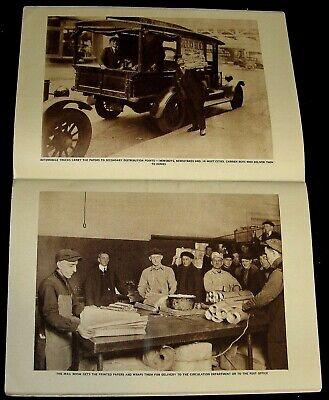d8ed8893ce6cf THE AMERICAN PRESS 1921 PICTORIAL   JOURNALISM   WARREN G HARDING + EINSTEIN