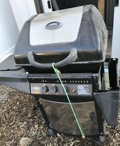 Used BBQ with side cook