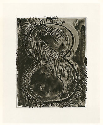 "Jasper Johns ""Figure 8"" 1968"