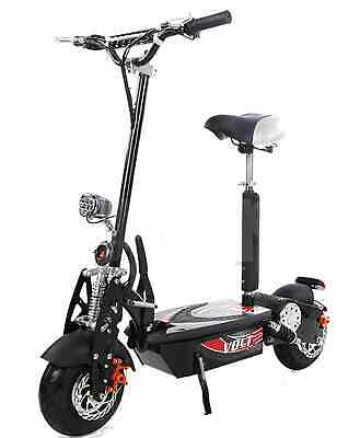 Patin scooter eléctrico con sillin 1600 w. motor brushless