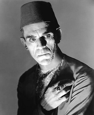 Boris Karloff The Mummy Photo Art Hollywood Movie Halloween Photos Artwork 8x10 - Halloween Mummy Art