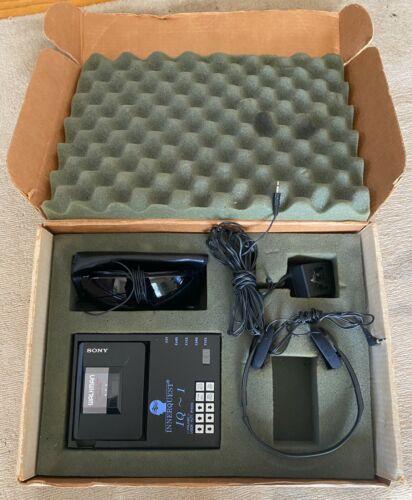 Original Box Rare Sony Walkman Innterquest IQ~1 WM-A12 Portable Cassette Tape