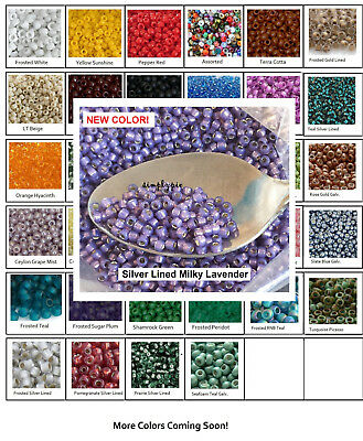 - 8/0 Toho 10-Grams Glass Seed Beads PICK COLOR