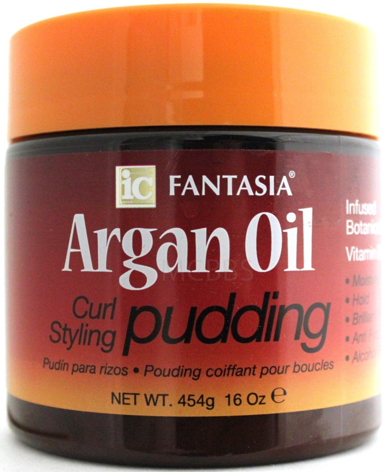 FANTASIA IC ARGAN OIL CURL STYLING HAIR PUDDING VITAMINS