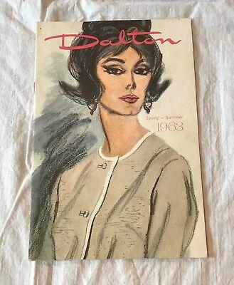 1963 Dalton Spring Summer Catalog Bernard's Style Shop Shamokin PA  60's Fashion