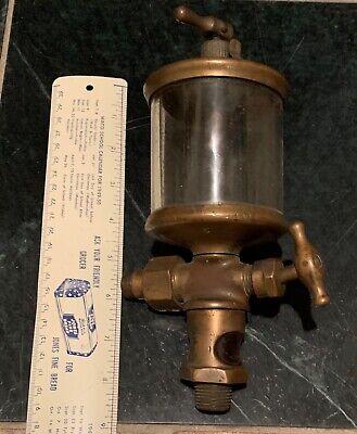 Lunkenheimer No. 5 Pat 1900 Gas Engine Cylinder Oiler As Found