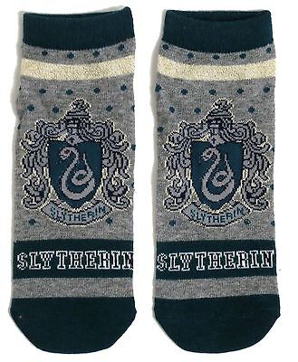 Slytherin Damen Harry Potter School House Schuh-Liner Socken Uk 08.04 Usa 6-10