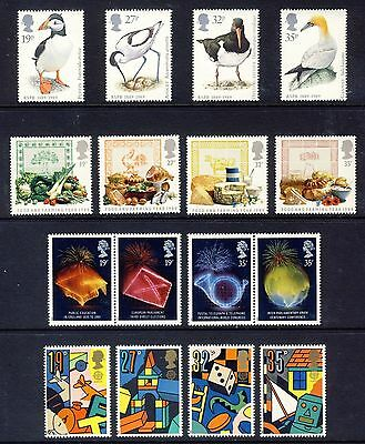 1989 Commemorative Stamps year set EXCLUDES GREETINGS AND M/S, unmounted mint
