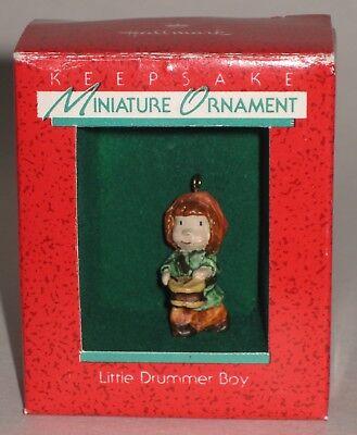Hallmark Keepsake Miniature Ornament Little Drummer Boy