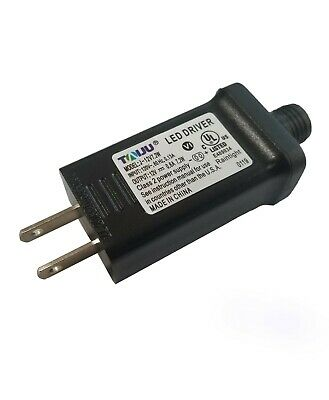 TAIJU LED / Inflatable Power Supply Adapter 12Vdc 0.6A 600mA 0.6Amp UL LISTED (Christmas Inflatable Power Supply)