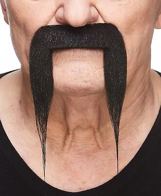 High quality Fu Manchu false, self adhesive mustache - Fake Fu Manchu Mustache