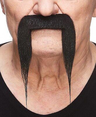 High quality Fu Manchu false, self adhesive mustache (Fake Fu Manchu Mustache)