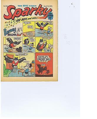 Buy Individual 1969/70//72/73/74 Sparky Comics VGC+. see list
