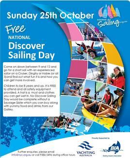 Discover Sailing 25th Oct 9am - 12pm Nedlands Nedlands Area Preview