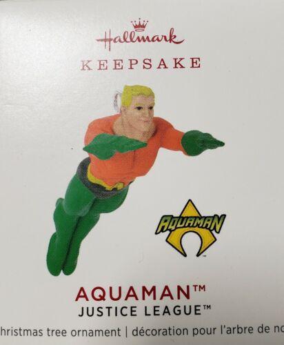 Hallmark 2019 DC Comics Justice League Aquaman Miniature Ornament