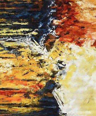 Paul Christian Abstract Original art piece acrylic on canvas ()