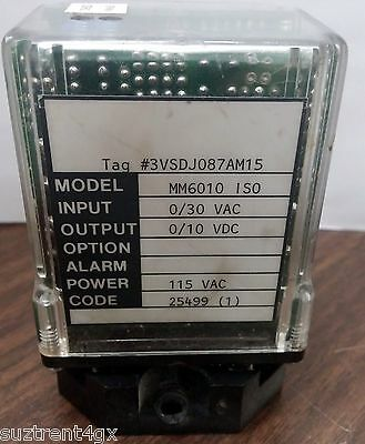 WILKERSON INST CO. MIGHTY MODULE, MM 6010ISO, CODE 25499  (PS012)