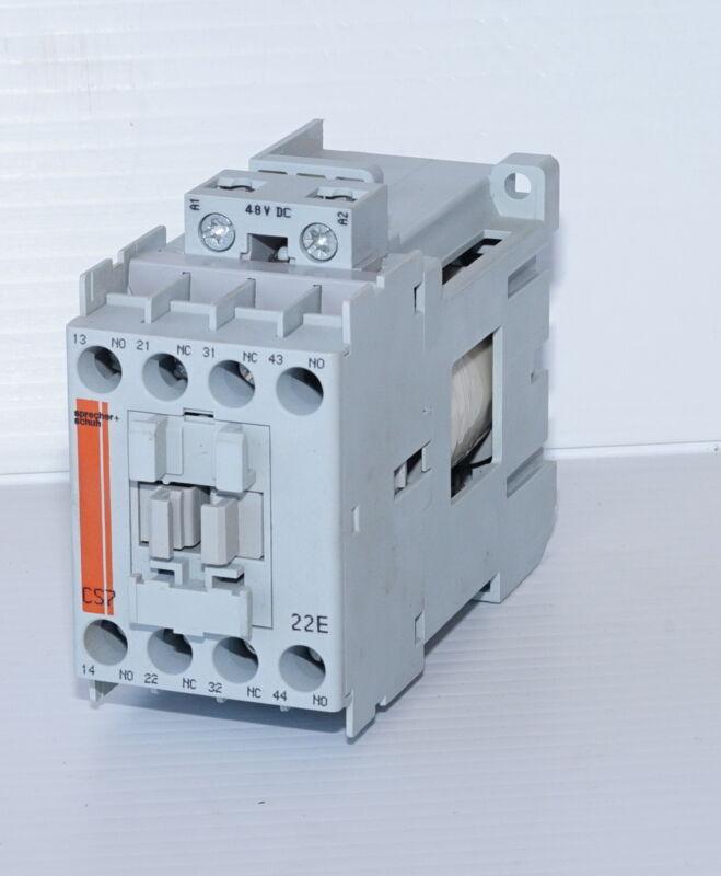 Sprecher Schuh CS7C-22E 25A , 48VDC Coil, Contactor Control Relay