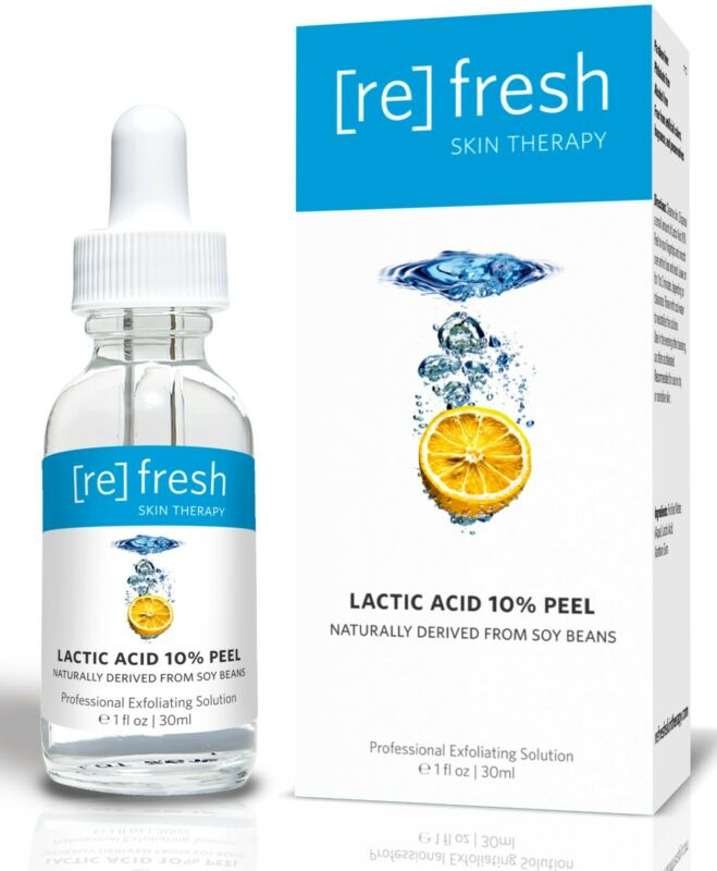 Refresh Skin Therapy Lactic Acid 10% Gel Peel - Professional, All-natural