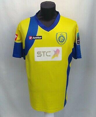 Very Rare 2009/2010 #26 Al Nassr FC Saudi Arabia Match Issue Jersey Lotto Shirt image