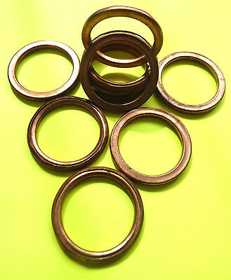COPPER EXHAUST GASKETS SEAL MANIFOLD GASKET RING FJ1100 XS1100 FJ1200 XJR1300F46