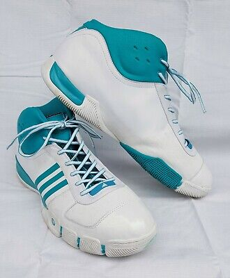 separation shoes cabd2 4f637 Mens 18 ADIDAS AST TS Lightspeed Basketball Shoes Turquoise White 077480