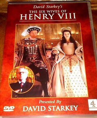 DAVID STARKEY THE SIX WIVES OF HENRY VIII DVD ROYAL FAMILY