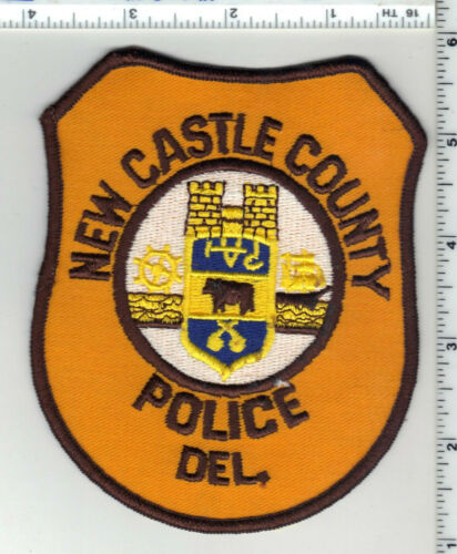 New Castle County Police (Delaware) 4th Issue Shoulder Patch