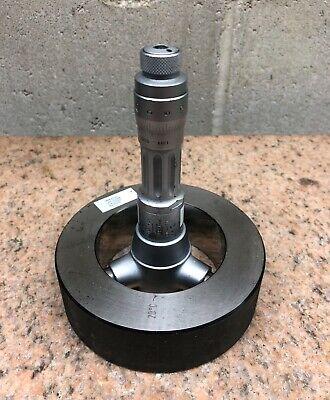 Bs Tesa 60 - 70 Mm Metric Intrimik Inside Bore Hole Micrometer W Setting Ring