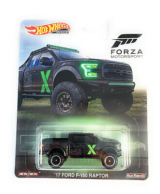 2019 Hot Wheels 1/64 '17 Ford F-150 Raptor Pop Culture Real Rider FYP67