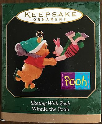 Hallmark 1999 Skating With Pooh Winnie the Pooh - QXD4127