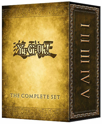 Yu-Gi-Oh Classic:COMPLETE SERIES,SEASONS 1-5, DVD BOX SET , FREE SHIPPING, NEW.