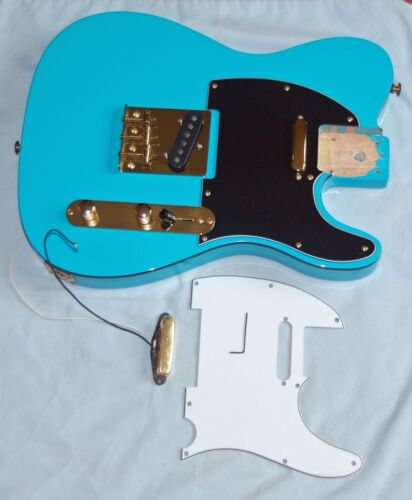 Telecaster Loaded Body w/ Gold Hardware Solid Wood Just Add a Neck