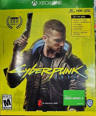 Cyberpunk 2077 ( Xbox One ) / Play on xbox series x / Brand New