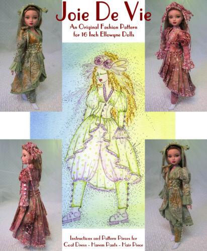 MHD Designs - Joie De Vie - Fashion Pattern for Ellowyne