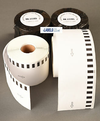Brother Compatible Rolls 2205 Large White Continuous Feed Labels Ql-500 Ql-580n